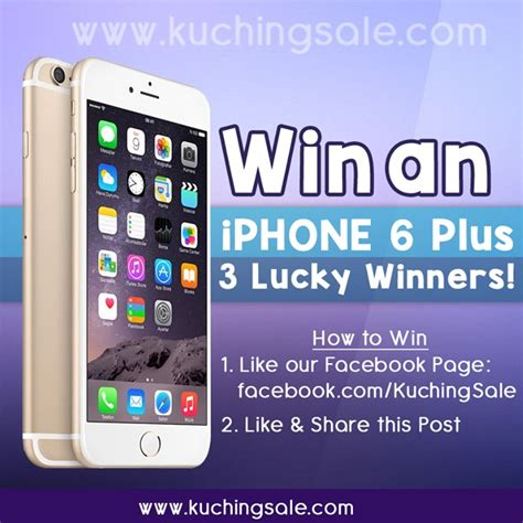 win a iphone 6 lucky draw win an iphone 6 plus emenang