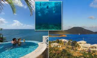 antigua s curtain bluff hotel shown in unseen photos