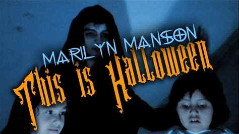This is Halloween Marilyn Manson Video - YouTube