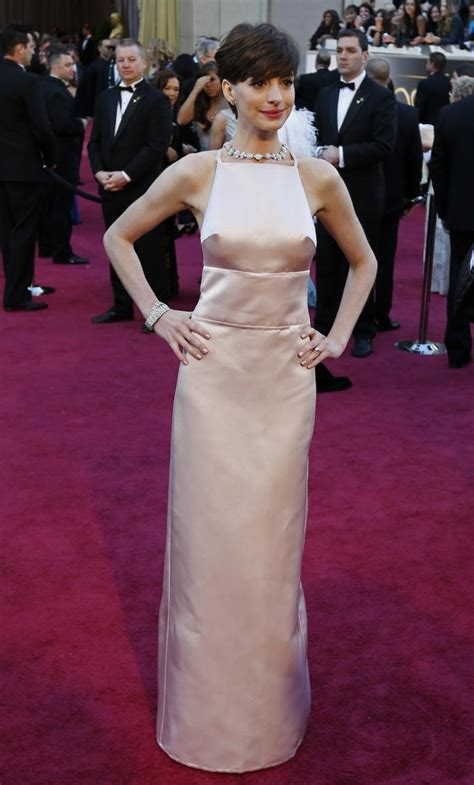 Malfunction Wardrobe Photos by Hathaway Wardrobe Malfunction Oscars 2013 Dress