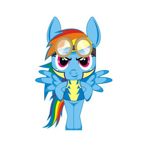 rainbow dash wonderbolts academy paper pony template