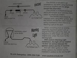 Wiring Delco Alternator Without Idiot Light