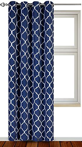 Navy Blue And White Drapes - navy blue and white curtains