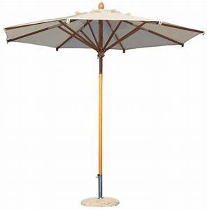 Parasol Grande Taille : parasol en bois de qualit pour restaurant terrasse hotel camping ~ Melissatoandfro.com Idées de Décoration