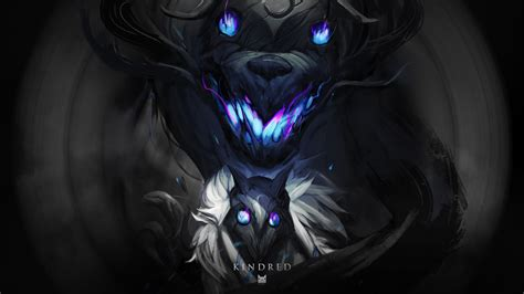 kindred lol wallpapers hd wallpapers artworks