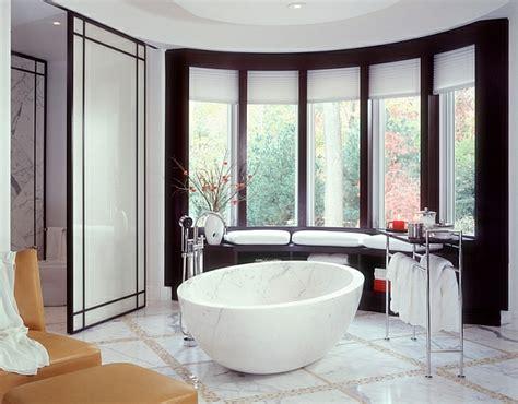 Freistehende Badewanne Die Moderne Badeinrichtungfreistehende Badewanne Aus Marmor by Hei 223 Es Bad Freistehende Badewannen Bieten Entspannung