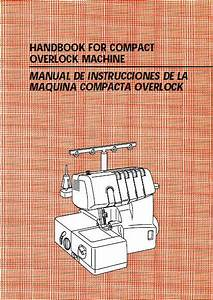 Brother 1034d Serger Owner U0026 39 S Manual On Cd