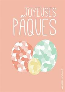 Joyeuses Paques Images : cartes joyeuses p ques imprimer ~ Voncanada.com Idées de Décoration