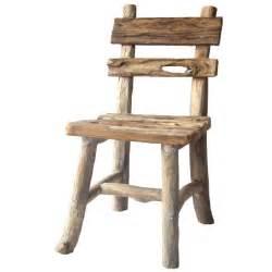 Chaise Bois Exterieur : chaise branches de teck et teck vieux 45cm ~ Teatrodelosmanantiales.com Idées de Décoration