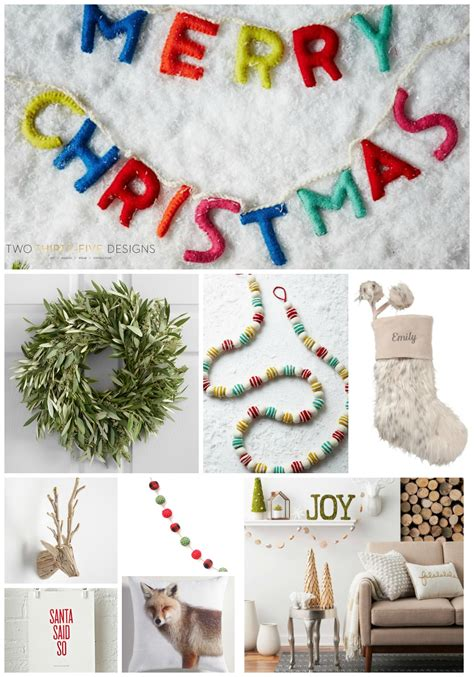 top 10 items for christmas decor two thirty five designs