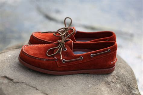Boat Shoes In The Fall by Sperry Fall 2010 Collection Authentic Original 2 Eye