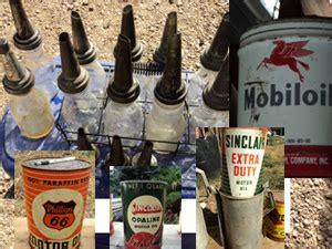 tommys colorado garage sale vintage gas signs oil cans