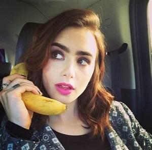 Lily Collins Instagram Pics - Celebzz - Celebzz