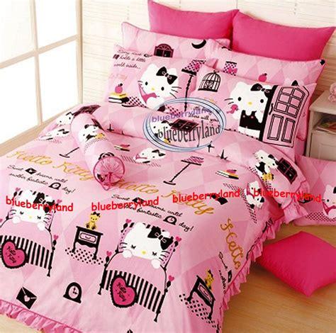 sanrio hello kitty bedding set queen size duvet cover