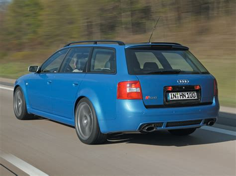 2004 Audi Rs6 Avant Plus Rear Angle Speed 1024x768