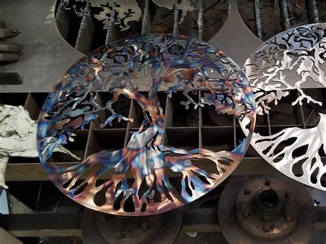 tree  life personalized custom metal art home decor advanced metal art