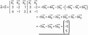 Determinante Berechnen : rechengesetze f r vektoren in koordinatendarstellung mathe brinkmann ~ Themetempest.com Abrechnung