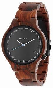 Uhren Aus Holz : holzuhren trendige holzarmbanduhren uhrcenter ~ Whattoseeinmadrid.com Haus und Dekorationen