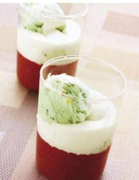 cuisine emulsion cappuccino fraise émulsion wasabi pour 4 personnes
