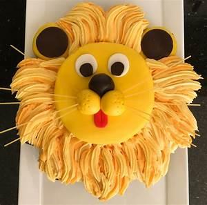 Lion Cake Mish Mash of Loves