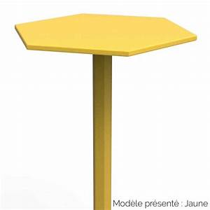 Table Haute Design : table haute hexagonale design personnalisable d 39 int rieur ou d 39 ext rieur ~ Teatrodelosmanantiales.com Idées de Décoration
