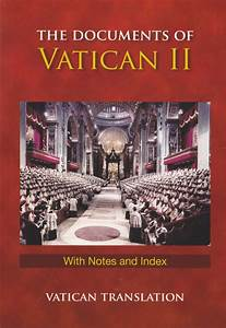 documents of vatican ii with notes index With documents of vatican council ii