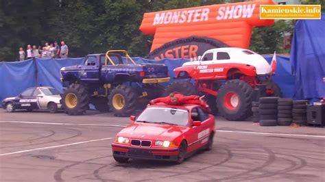youtube monster truck show monster truck show w kamieniu pomorskim youtube