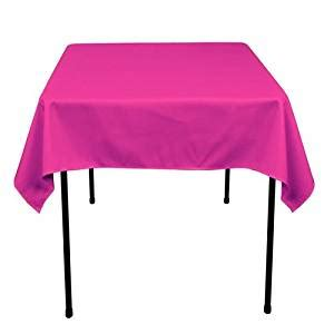 tablecloth for 54x54 square table amazon com square polyester tablecloth 54x54 inches