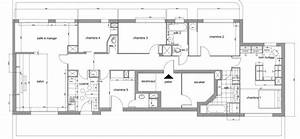 plan appartement 150m2 With plan appartement 150 m2 3 plan maison sur terrain de 300m2
