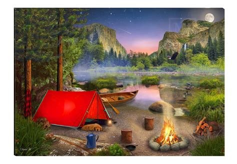 wilderness camping order options