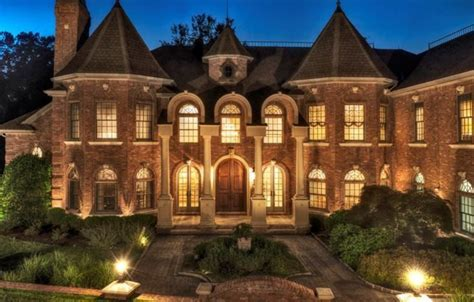 12,000 Square Foot Stately Brick Mansion In Franklin Lakes