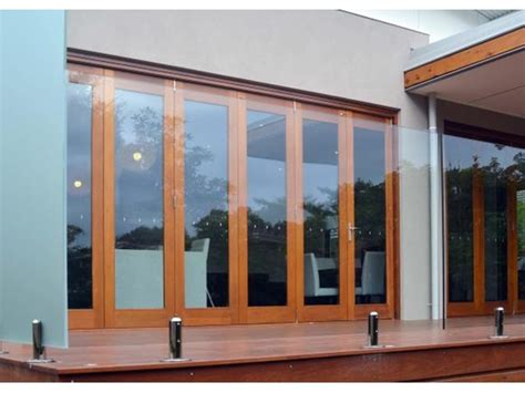 timber bi fold doors patio doors stegbar doors