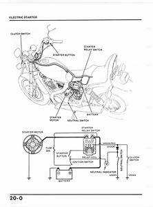 2002 Honda Shadow Sabre Wiring Diagram