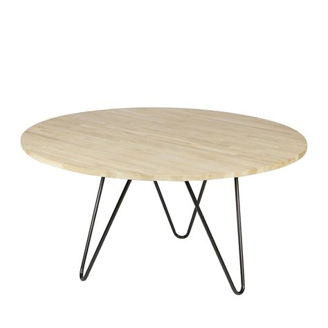 table a manger bois et metal table 224 manger ronde bois et m 233 tal circle bu drawer