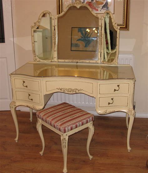 antique vanity table antiques atlas louis dressing table stool