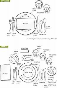 43 Best Images About Formal And Informal Table Settings On