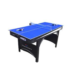 sears sportcraft air hockey table air hockey with table tennis top fun with 2 games in 1 at