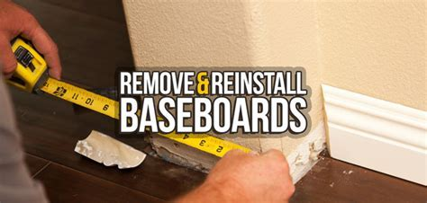 How to Remove & Reinstall Your Baseboards   Budget Dumpster