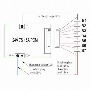 24v 36v 48v Battery Bms Pcm Used For 3 2v Lifepo4 Cell And