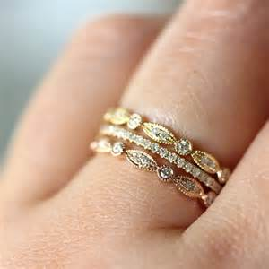 stackable wedding bands trend stacked wedding ring s say yes events