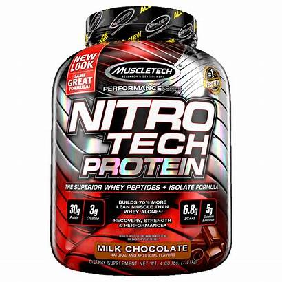 Nitro Nitrotech Protein Tech Whey Isolate Milk