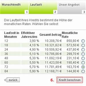 Laufzeit Kredit Berechnen : kreditrechner der swk ~ Themetempest.com Abrechnung