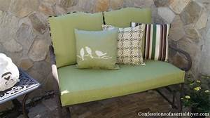Sew Easy Outdoor Cushion Covers Part 2