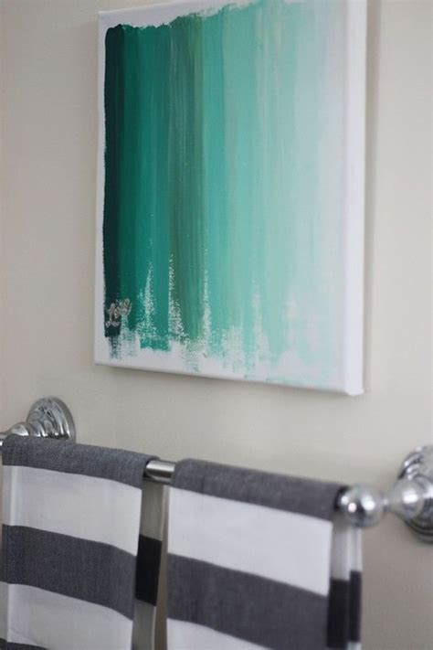 ideas for painting bathroom walls 20 diy painting ideas for wall pretty designs