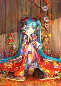 11, Anime, Girl, Kimono, Wallpaper, Hd