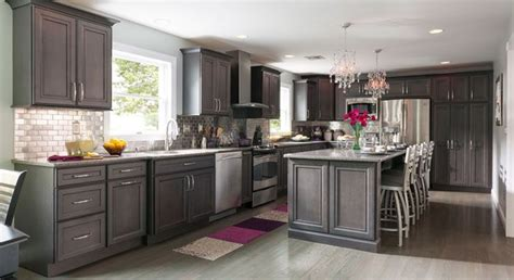 grey maple kitchen cabinets gray kitchen with splashes of color that can be changed 4083