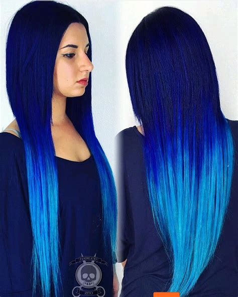 Da Blues By Hairgodzito This Electric Blue Hair Color