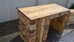 Plan Meuble Palette : faire un meuble en palette ~ Dallasstarsshop.com Idées de Décoration