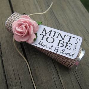 Mint wedding favors set of 24 mint rolls by for Wedding favors mint to be