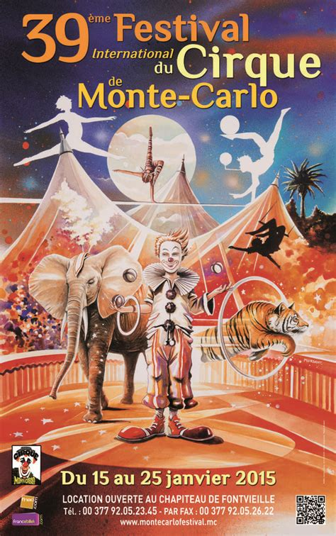 palmares du xxxixe festival international du cirque de monte carlo news culture policy